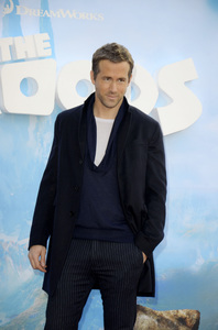 """""""The Croods"""" Premiere Ryan Reynolds 3-10-2013 / AMC Loews Lincoln Square Theater / New York NY / Dreamworks / Photo by Eric Reichbaum - Image 24266_71"""
