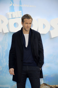 """""""The Croods"""" Premiere Ryan Reynolds 3-10-2013 / AMC Loews Lincoln Square Theater / New York NY / Dreamworks / Photo by Eric Reichbaum - Image 24266_72"""