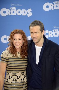 """""""The Croods"""" Premiere Robyn Lively, Ryan Reynolds 3-10-2013 / AMC Loews Lincoln Square Theater / New York NY / Dreamworks / Photo by Eric Reichbaum - Image 24266_81"""