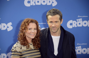 """The Croods"" Premiere Robyn Lively, Ryan Reynolds 3-10-2013 / AMC Loews Lincoln Square Theater / New York NY / Dreamworks / Photo by Eric Reichbaum - Image 24266_83"
