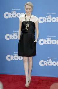 """""""The Croods"""" Premiere Emma Stone 3-10-2013 / AMC Loews Lincoln Square Theater / New York NY / Dreamworks / Photo by Eric Reichbaum - Image 24266_87"""