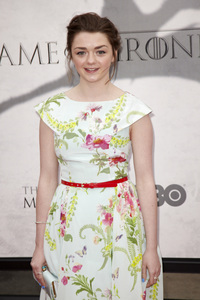 """""""Games of Thrones"""" PremiereMaisie Williams3-18-2013 / TCL Chinese Theater / Hollywood CA / HBO / Photo by Kevin Kozicki - Image 24267_0009"""