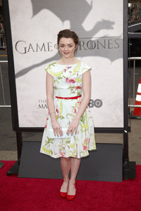"""Games of Thrones"" PremiereMaisie Williams3-18-2013 / TCL Chinese Theater / Hollywood CA / HBO / Photo by Kevin Kozicki - Image 24267_0010"