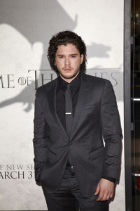 """""""Games of Thrones"""" PremiereKit Harington3-18-2013 / TCL Chinese Theater / Hollywood CA / HBO / Photo by Kevin Kozicki - Image 24267_0085"""