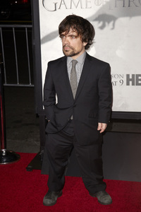"""Games of Thrones"" PremierePeter Dinklage3-18-2013 / TCL Chinese Theater / Hollywood CA / HBO / Photo by Kevin Kozicki - Image 24267_0122"