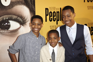 """Peeples"" PremiereTyler James Williams, Tyrel Jacob Williams, Tylen Jacob Williams5-8-13 / ArcLightr / Hollywood CA / Lionsgate/ 24th Street Films / Photo by Kevin Kozicki - Image 24272_0094"
