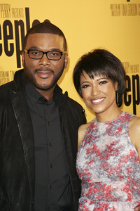 """""""Peeples"""" PremiereTyler Perry, Tina Gordon Chism5-8-13 / ArcLightr / Hollywood CA / Lionsgate/ 24th Street Films / Photo by Kevin Kozicki - Image 24272_0113"""
