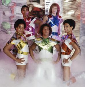 Apollo (Kerry Gordy, Lenny Greene, Cliff Liles, Benny Medina and Larry Robinson)1977© 1978 Bobby Holland - Image 24273_0001