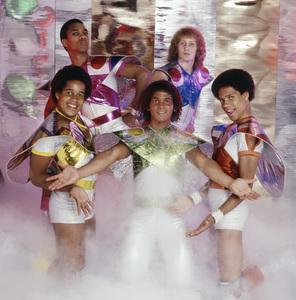Apollo (Kerry Gordy, Lenny Greene, Cliff Liles, Benny Medina and Larry Robinson)1977© 1978 Bobby Holland - Image 24273_0005