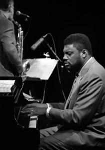 "Mulgrew Miller at the ""Jazz Gipfel"" concert in Stuttgart, Germany 1992 © 1992 Bob Willoughby - Image 24278_0003"