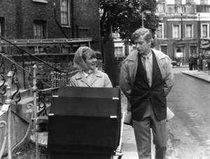 "Michael Caine and Millicent Martin in ""Alfie""1966 Paramount** I.V. - Image 24287_0005"