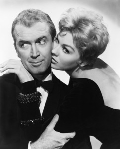 """James Stewart and Kim Novak in """"Bell Book and Candle""""  1958 Columbia ** I.V. - Image 24287_0016"""