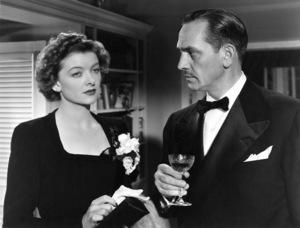 "Fredric March and Myrna Loy in ""The Best Years of Our Lives"" 1946 RKO Radio Pictures** I.V. - Image 24287_0023"