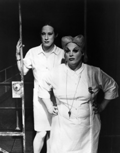"""Divine in a stage production of """"Women Behind Bars"""" circa late 1970s ** I.V. - Image 24287_0140"""