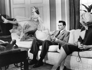 """Grace Kelly and Frank Sinatra during the filming of """"High Society"""" 1956 MGM** I.V. - Image 24287_0191"""