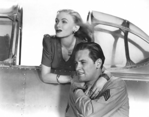 """Veronica Lake and William Holden in """"I Wanted Wings"""" 1941 Paramount** I.V. - Image 24287_0230"""