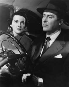 """Nancy Davis and Ray Milland in """"Night Into Morning"""" 1951 MGM ** I.V. - Image 24287_0273"""