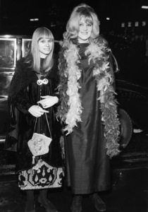 "Rita Tushingham and Lynn Redgrave attend the London premiere of ""Smashing Time"" at the Odeon Leicester Square 12/28/1967** I.V. - Image 24287_0306"