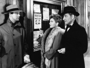 """Cary Grant, Jean Arthur and Ronald Colman in """"The Talk of the Town"""" 1942 Columbia** I.V. - Image 24287_0322"""