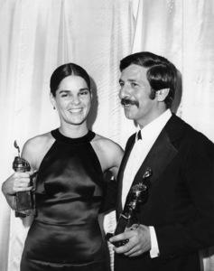 Ali MacGraw and Topol at the Golden Globe Awards1972** B.D.M. - Image 24293_0085