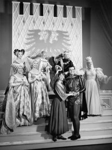 "Lesley Ann Warren, Stuart Damon, Pat Carroll, Barbara Ruick, Celeste Holm, Jo Van Fleet, Ginger Rogers and Walter Pidgeon in ""Cinderella""1965** B.D.M. - Image 24293_0102"