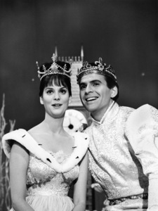 "Lesley Ann Warren and Stuart Damon in ""Cinderella""1965** B.D.M. - Image 24293_0103"
