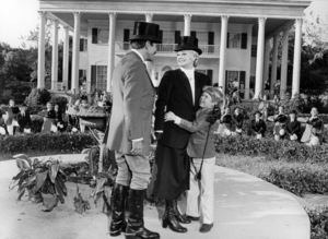 """Robert Preston, Lucille Ball and Kirby Furlong in """"Mame""""1974 Warner Brothers** B.D.M. - Image 24293_0175"""