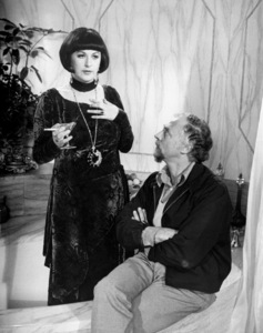"""Bea Arthur and director Gene Saks on the set of """"Mame""""1974 Warner Brothers** B.D.M. - Image 24293_0176"""