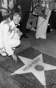 Helen Reddy during a Hollywood Walk of Fame ceremony July 23, 1974** B.D.M. - Image 24293_0197