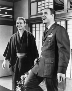 """Red Buttons and Marlon Brando in """"Sayonara""""1957 Warner Brothers** B.D.M. - Image 24293_0213"""