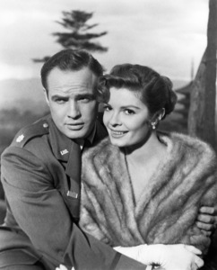 "Marlon Brando and Patricia Owens in ""Sayonara""1957 Warner BrothersPhoto by Floyd McCarty** B.D.M. - Image 24293_0214"