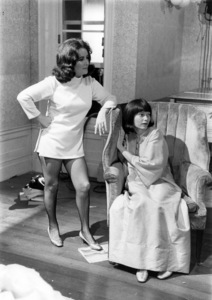 "Elizabeth Taylor and Mia Farrow in ""Secret Ceremony""1968 Universal** B.D.M. - Image 24293_0217"