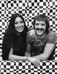 Sonny Bono and Cher circa 1972** B.D.M. - Image 24293_0221