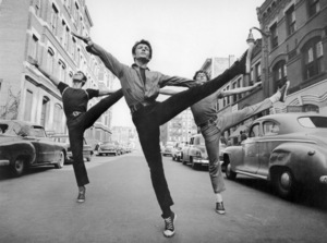"""Jay Norman, George Chakiris and Eddie Verso in """"West Side Story""""1961 United Artists** B.D.M. - Image 24293_0233"""