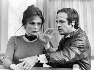 """Jacqueline Bisset and Francois Truffaut on the set of """"Day For Night""""1973 Warner Bros.** B.D.M. - Image 24293_0262"""