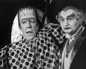 """Fred Gwynne and Al Lewis in """"Munster, Go Home!""""1966 Universal** B.D.M. - Image 24293_0294"""