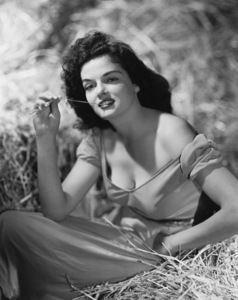 """Jane Russell in """"The Outlaw""""1943 Howard Hughes ProductionsPhoto by Hurrell** B.D.M. - Image 24293_0296"""