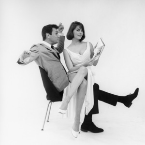 """Tony Curtis and Natalie Wood in """"Sex and the Single Girl""""1964 Warner Bros.**B.D.M. - Image 24293_0313"""