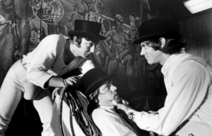 """A Clockwork Orange""James Marcus, Warren Clarke, Malcolm McDowell1971 Warner Bros.** B.D.M. - Image 24293_0330"