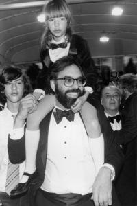 "Roman Coppola, Sofia Coppola, Francis Ford Coppola and Carmine Coppola at the Cannes Film Festival opening night of ""Apocalypse Now""1979** B.D.M. - Image 24293_0334"