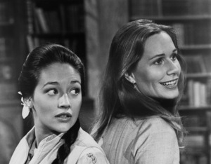 """Olivia Hussey and Sally Kellerman in """"Lost Horizon""""1973 Columbia Pictures** B.D.M. - Image 24293_0385"""