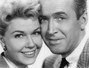 """Doris Day and James Stewart in """"The Man Who Knew Too Much""""1956 Paramount** B.D.M. - Image 24293_0388"""