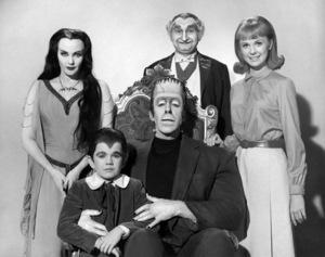 """Munster, Go Home!""Yvonne De Carlo, Butch Patrick, Fred Gwynne, Al Lewis, Debbie Watson1966 Universal** B.D.M. - Image 24293_0393"