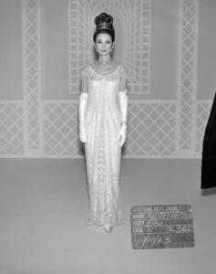 "Audrey Hepburn costume test for ""My Fair Lady""1964 Warner Bros.** B.D.M. - Image 24293_0395"