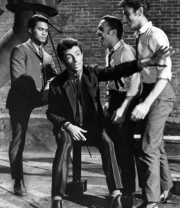 "Jose De Vega, George Chakiris, Jaime Rogers and Eddie Verso in ""West Side Story""1961 UA** B.D.M. - Image 24293_0456"