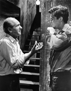 """Ned Glass and Richard Beymer in """"West Side Story""""1961 UA** B.D.M. - Image 24293_0457"""
