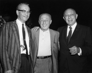 """Henry Levin, Joe Pasternak and Joseph R. Vogel (President of MGM) on the set of """"Where the Boys Are""""1960 MGM** B.D.M. - Image 24293_0460"""