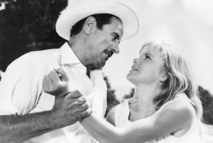 """Eli Wallach and Hayley Mills in """"The Moon-Spinners""""1964 Buena Vista/Disney** B.D.M. - Image 24293_0464"""