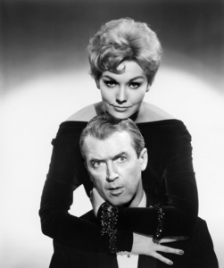"""James Stewart and Kim Novak in """"Bell, Book and Candle""""1958 Columbia** B.D.M. - Image 24293_0482"""
