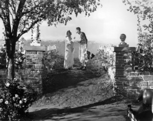 """Donna Reed and James Stewart in """"It"""